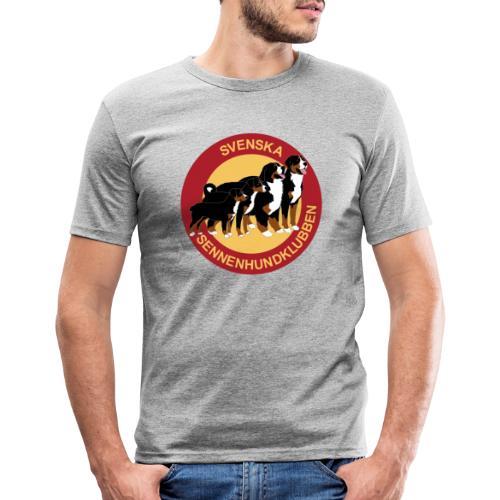 Sennenhundklubben - Slim Fit T-shirt herr