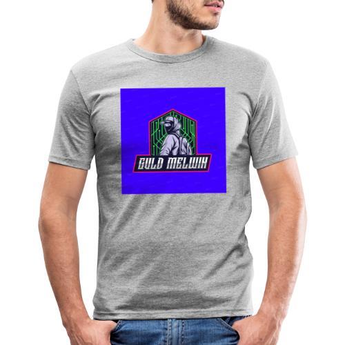 Guld Melwin - Slim Fit T-shirt herr