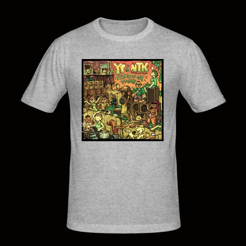 String Up My Sound Artwork - Men's Slim Fit T-Shirt