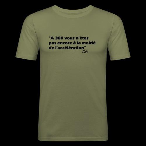 380 noir - T-shirt près du corps Homme