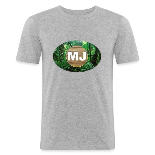 MrJuls Logo - Männer Slim Fit T-Shirt