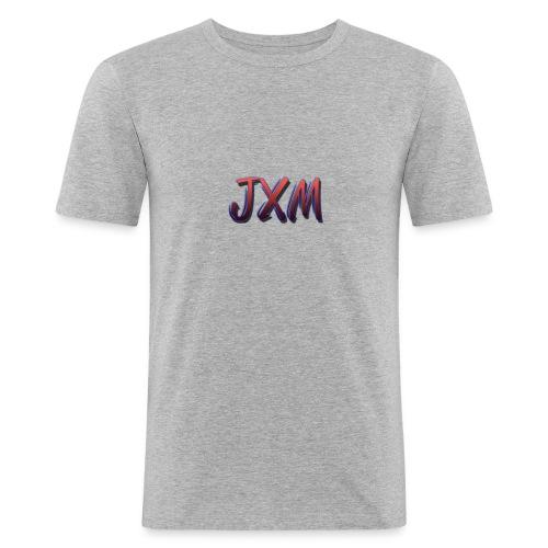 JXM Logo - Men's Slim Fit T-Shirt