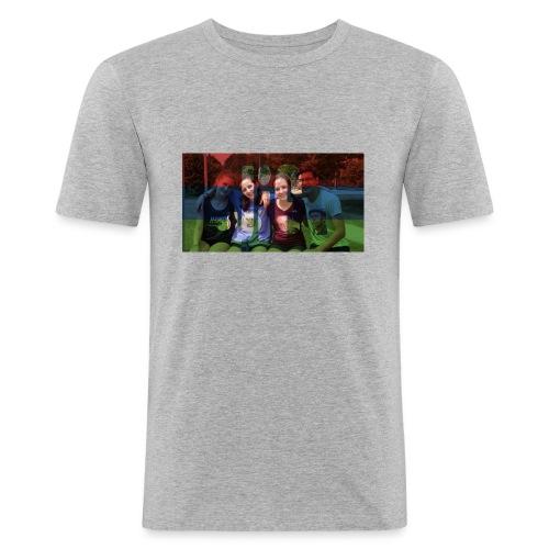 PV-Bike Trip Propaganda - Männer Slim Fit T-Shirt