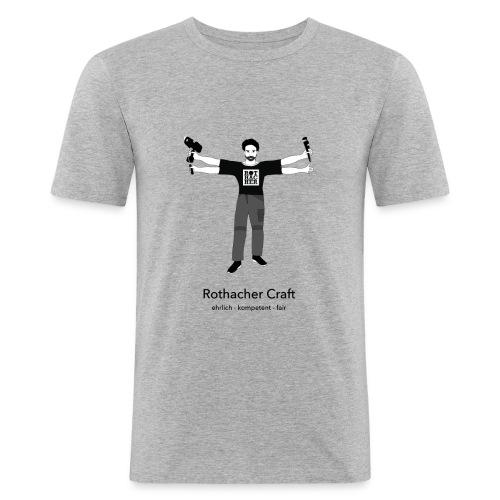 Rothacher Craft - Männer Slim Fit T-Shirt