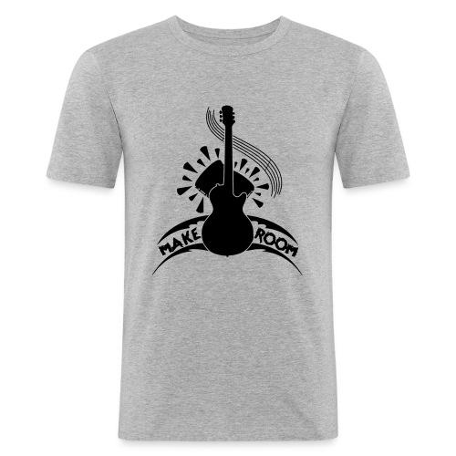 Make Room - Men's Slim Fit T-Shirt