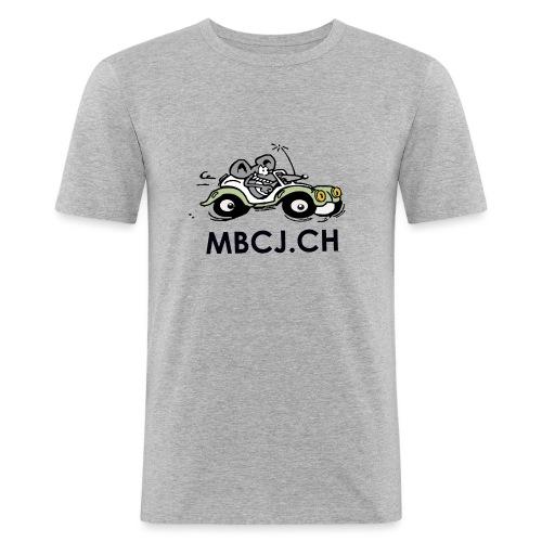 logo mbcj 50cm sans arc - T-shirt près du corps Homme