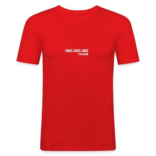 Techno - Männer Slim Fit T-Shirt