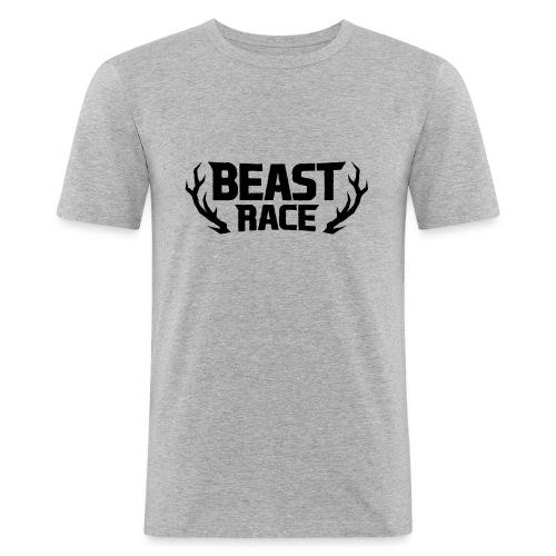 BEAST RACE - Men's Slim Fit T-Shirt