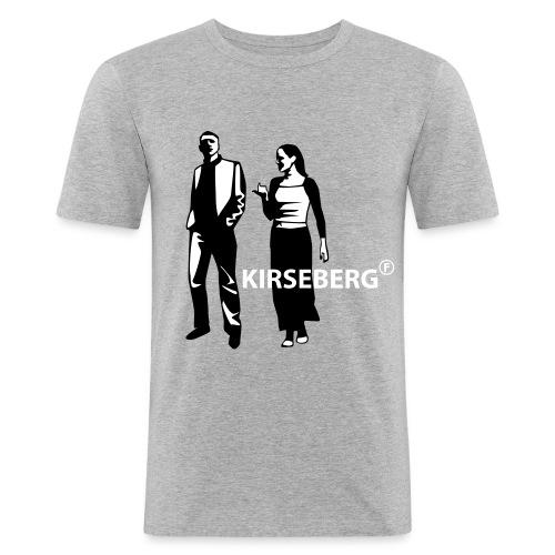 kirseberg - Slim Fit T-shirt herr