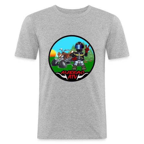 Logo aubrac ATV - T-shirt près du corps Homme