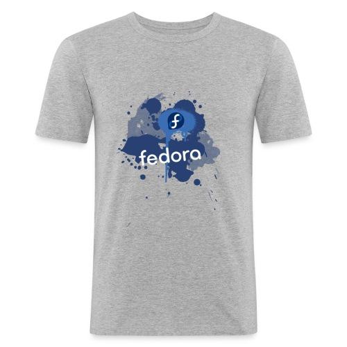 splatter - Männer Slim Fit T-Shirt