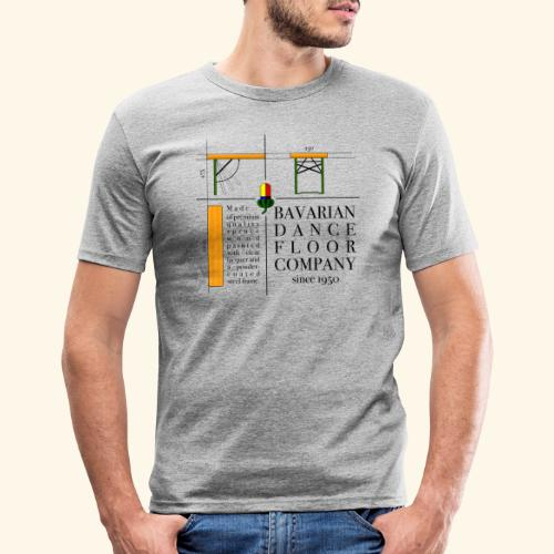bavarian dance floor - Männer Slim Fit T-Shirt