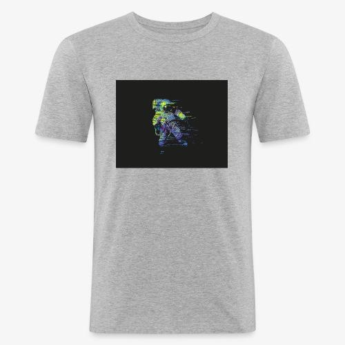 Astronaut - Maglietta aderente da uomo