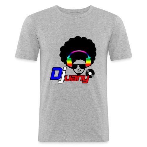 Djuany logo - Maglietta aderente da uomo