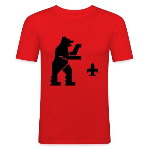 hemelogovektori - Miesten tyköistuva t-paita