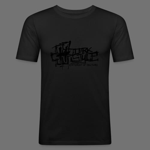 Tumma Style - Statement of Culture (musta) - Miesten tyköistuva t-paita