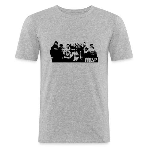 MRP Team mit Logo - Männer Slim Fit T-Shirt