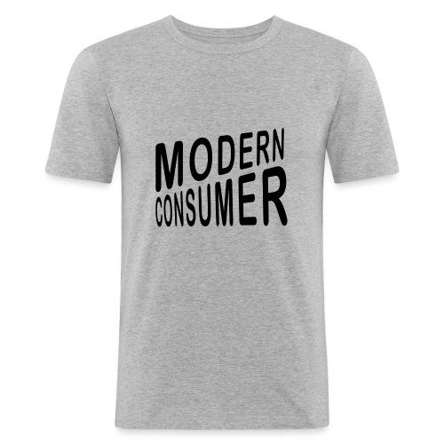 Shirt LOGO 2 png - Männer Slim Fit T-Shirt