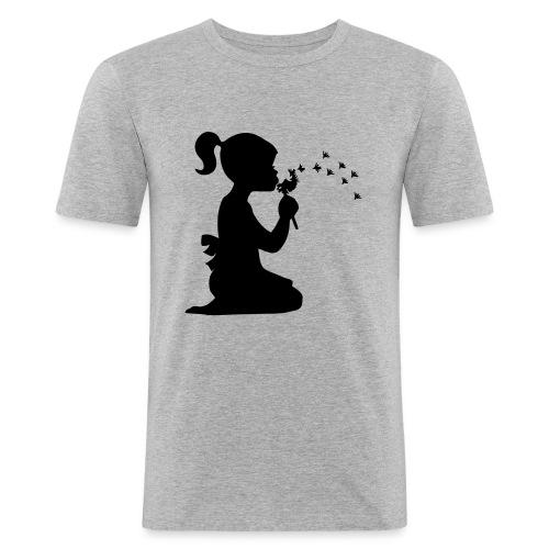 Koszulka blowing - Maglietta aderente da uomo