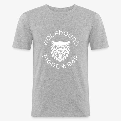 logo round w - Men's Slim Fit T-Shirt