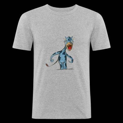 Vache funny - T-shirt près du corps Homme