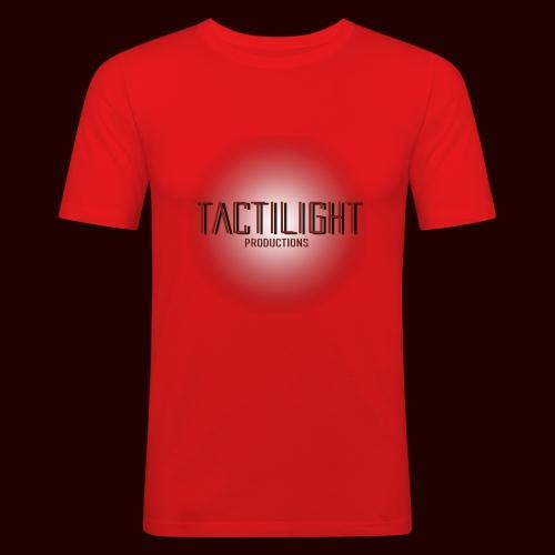 Tactilight Logo - Men's Slim Fit T-Shirt