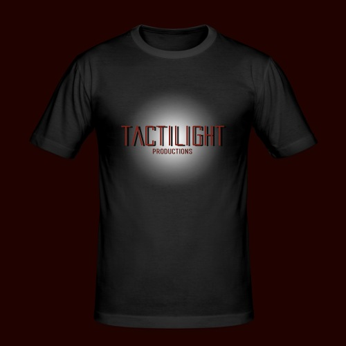 Tactilight Logo - Men's Slim Fit T-Shirt