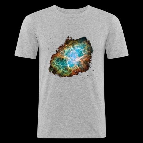 Crabnebula - Männer Slim Fit T-Shirt