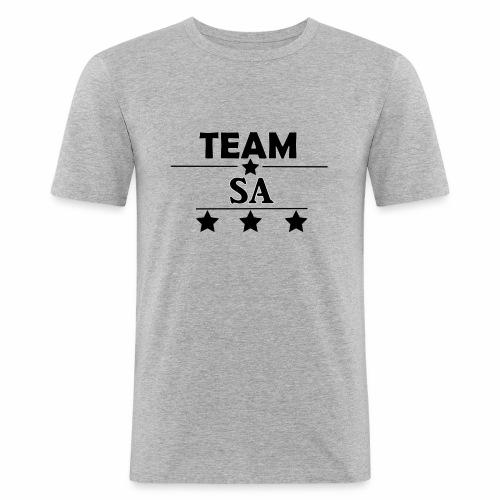 Team SA Logo - Slim Fit T-shirt herr