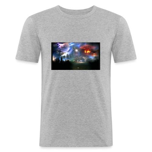 WK 3-Weltkrieg Nr.3 - Männer Slim Fit T-Shirt