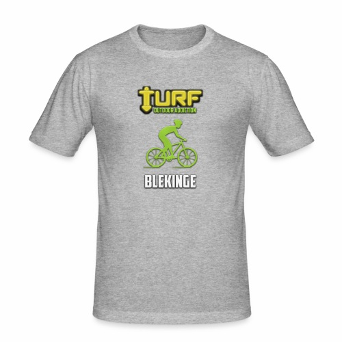 TURF - BLEKINGE - Slim Fit T-shirt herr