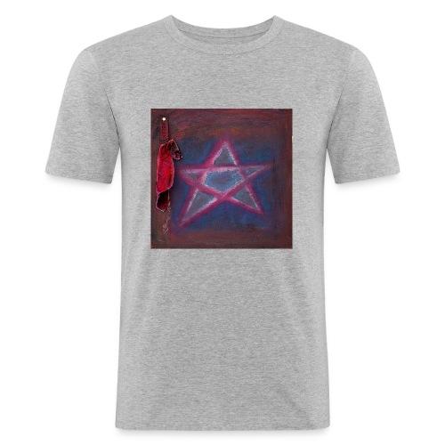 PENTAGRAM - Männer Slim Fit T-Shirt