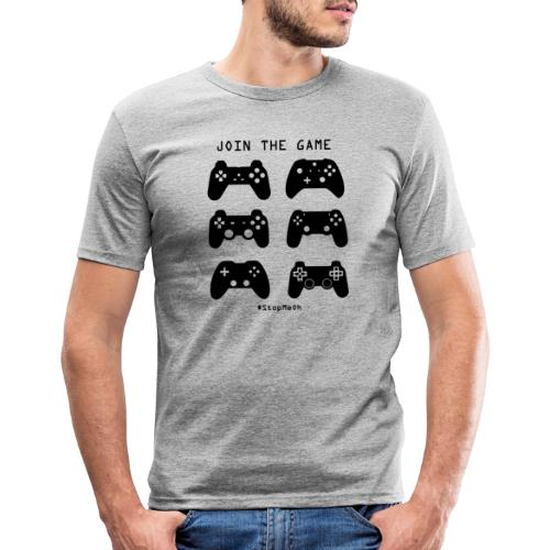 Join The Game - Men's Slim Fit T-Shirt