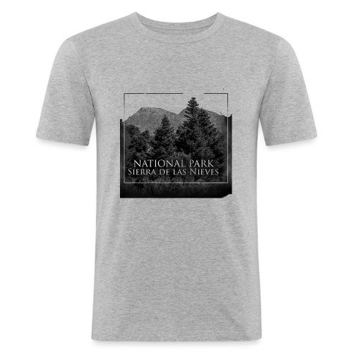 National Park Sierra de las Nieves - Camiseta ajustada hombre