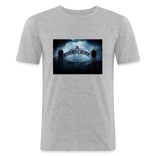 Eternity Blues - Maglietta aderente da uomo