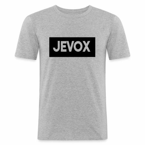 Jevox Black - Mannen slim fit T-shirt