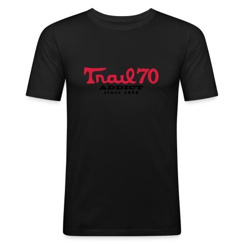 trail70addict01 - T-shirt près du corps Homme