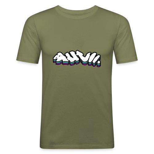AHVII   Get Spacey - Mannen slim fit T-shirt