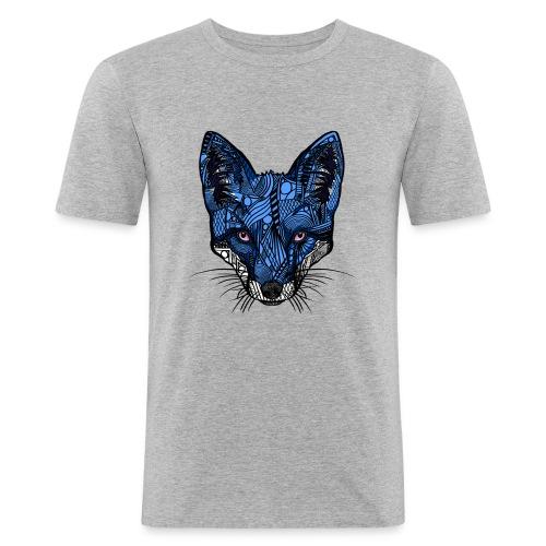 Blårev - Slim Fit T-skjorte for menn