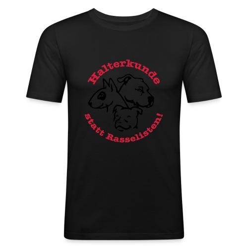 508 Halterkunde statt Rasselisten - Männer Slim Fit T-Shirt