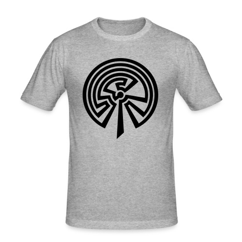 Indianisches Labyrinth - Männer Slim Fit T-Shirt