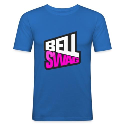 Bellswag logo transparent large - Men's Slim Fit T-Shirt