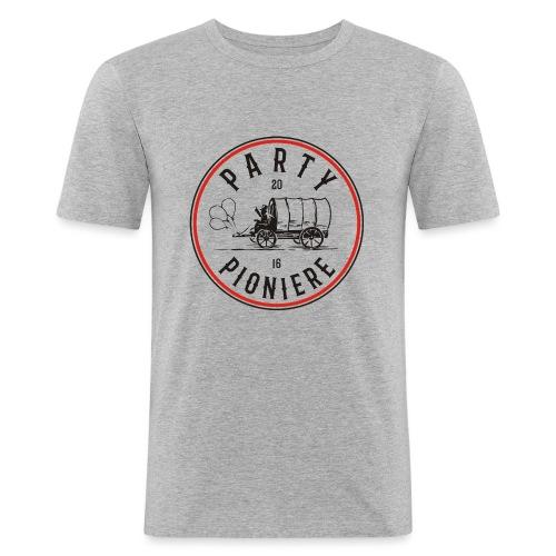 Party Pioniere - Männer Slim Fit T-Shirt