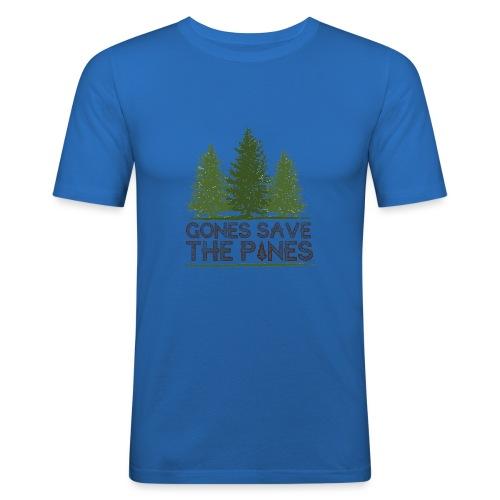 Gones save the pines - T-shirt près du corps Homme