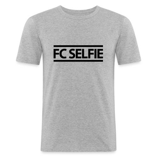 FCSELFIE Logo-Print - Männer Slim Fit T-Shirt