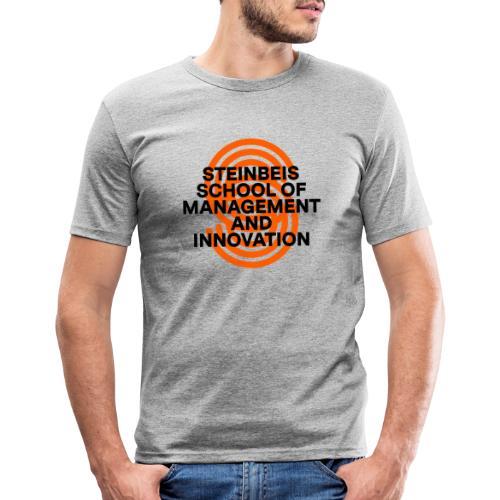 SUPERSIGN + SCHRIFTZUG - Männer Slim Fit T-Shirt