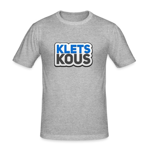 Kletskous - Mannen slim fit T-shirt