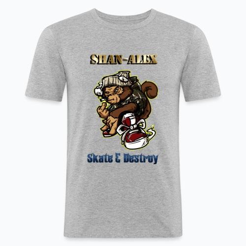 Skate - T-shirt près du corps Homme