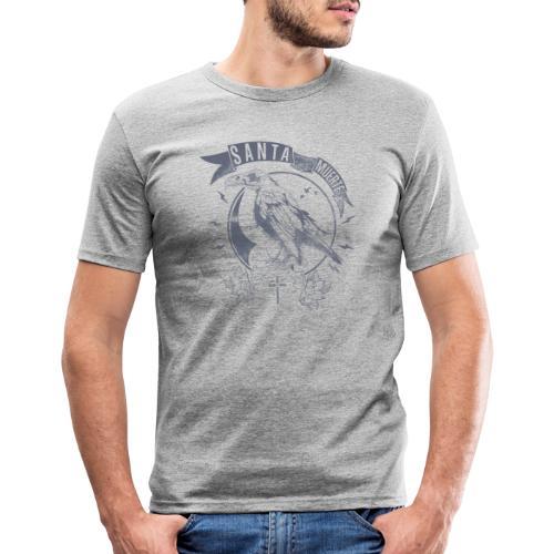 Santa Muerte Messenger - Männer Slim Fit T-Shirt