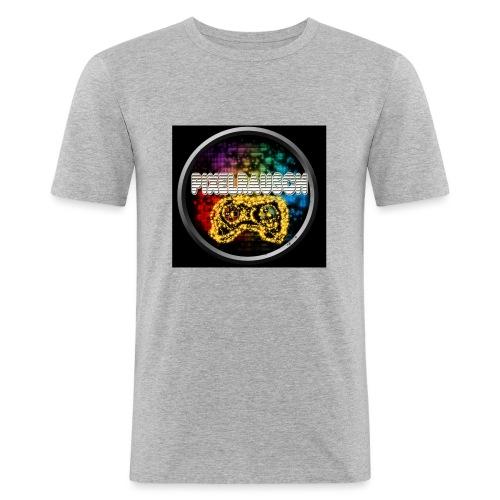 Pixelrausch Fanartikel - Männer Slim Fit T-Shirt